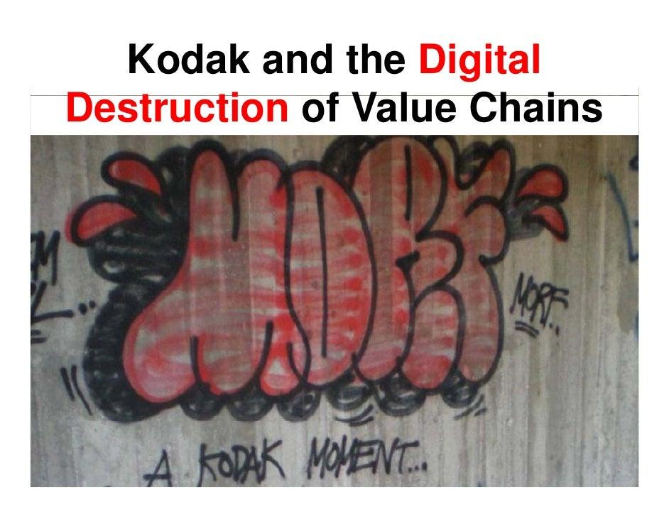 Kodak and the Digital Destruction of V l Ch i D t    ti    f Value Chains