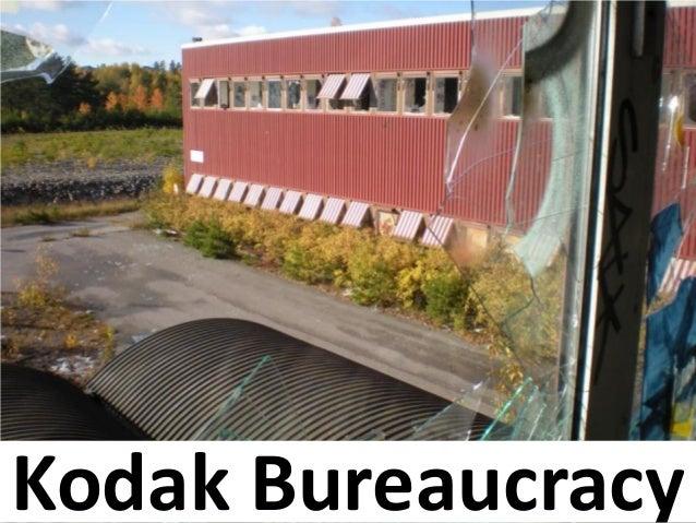 Kodak Bureaucracy
