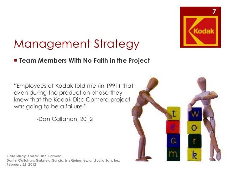 Kodak and the digital revolution case study analysis