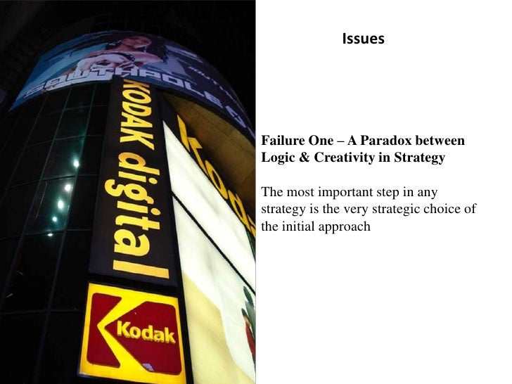Failure One – A Paradox between Logic & Creativity in StrategyThe most important step in any strategy is the very strategi...