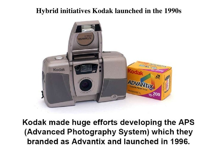 Hybrid initiatives Kodak launched in the 1990s<br />