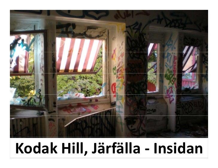 KodakHill,Järfälla‐ Insidan