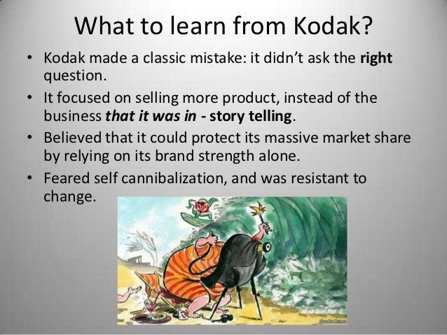 What Happened to Kodak? Slide 3