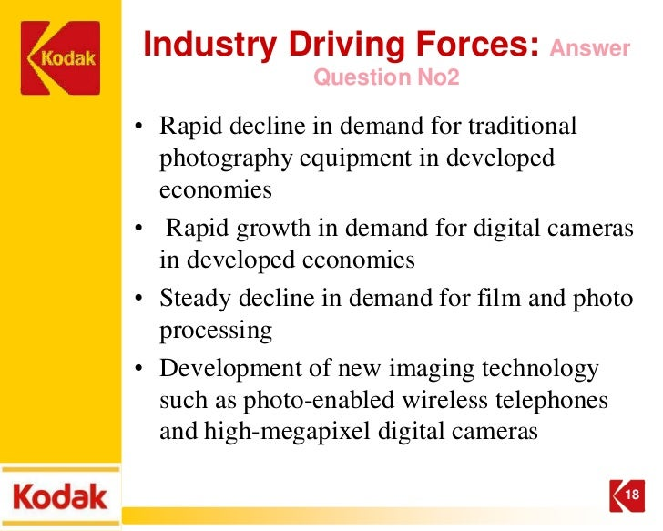 kodak and five forces With a clear vision and a solid strategic quality plan to support it, any organization can not only thrive in its current market, but also expand into new ma.