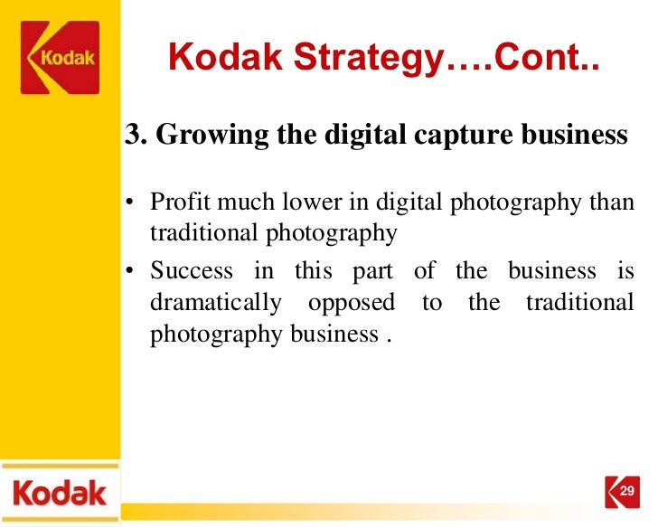 Swot analysis of kodak case study