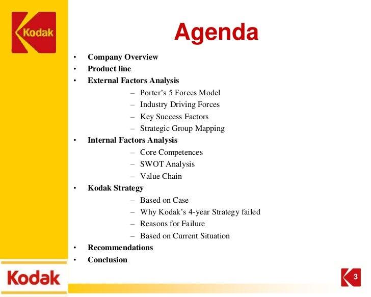 case study of kodak company