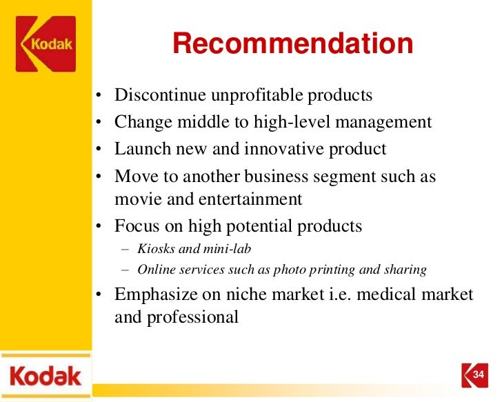 a new strategy for kodak Posts about assignment 3: a new strategy for kodak written by dr jane.
