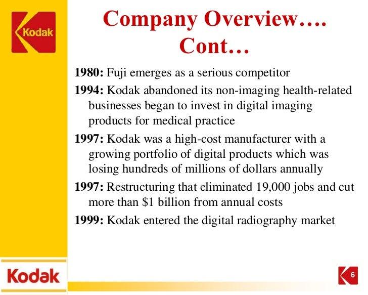 why didn t kodak go digital