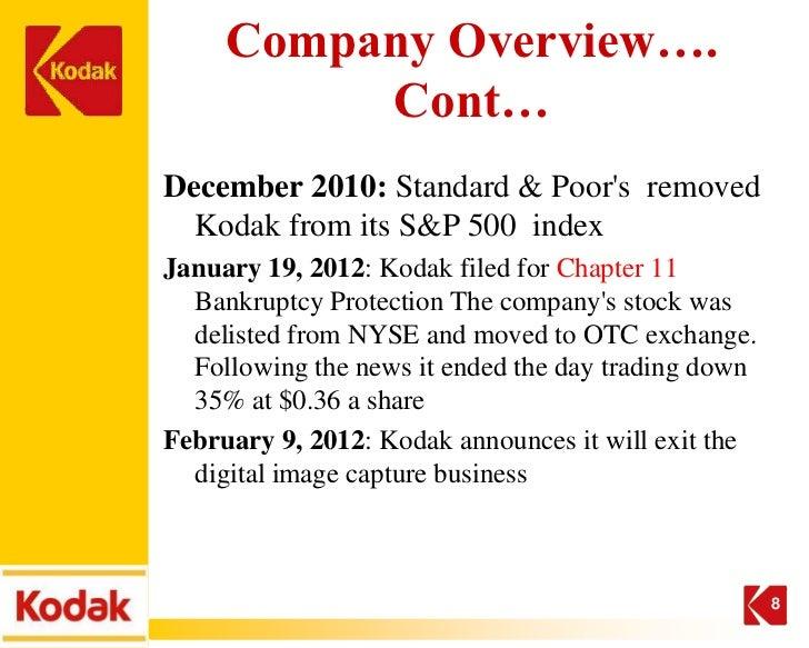 Kodak strategy