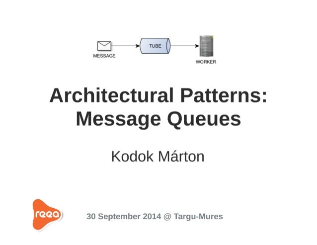 Arhitectural Patterns - Message Queues (Beanstalkd)
