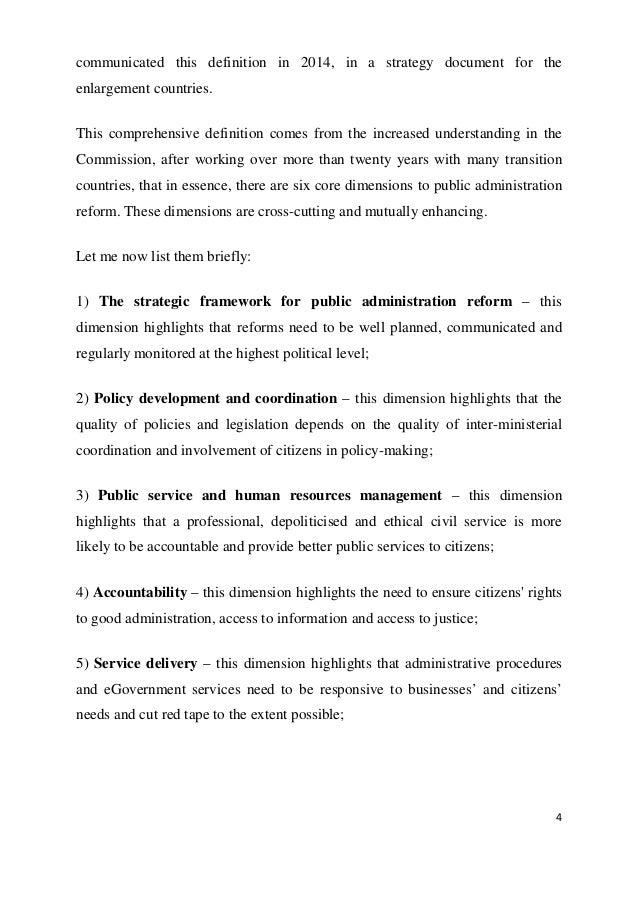 principles of public administration pdf