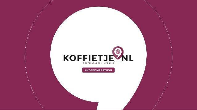 #KOFFIEMARATHON