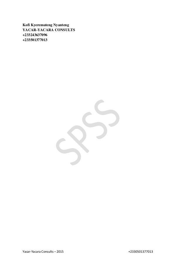 Yacar-Yacara Consults – 2015 +2330501377013 Kofi Kyeremateng Nyanteng YACAR-YACARA CONSULTS +233243637096 +233501377013