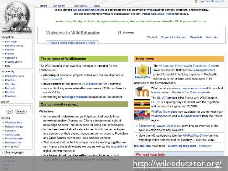 http://wikieducator.org/