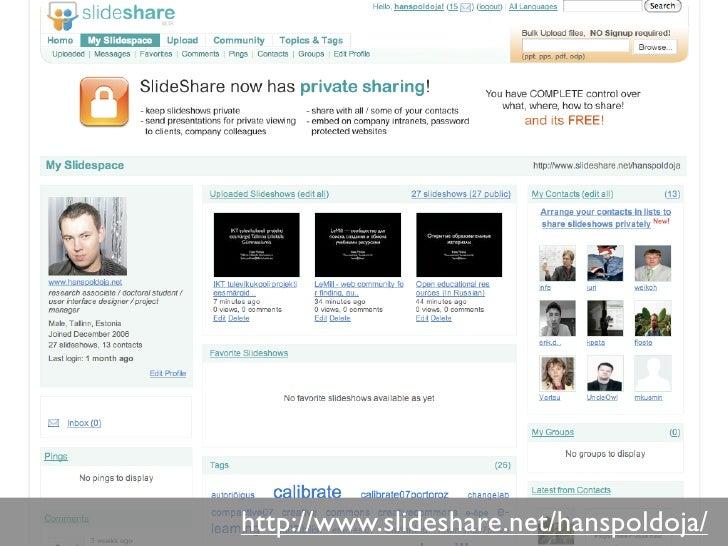 http://www.slideshare.net/hanspoldoja/