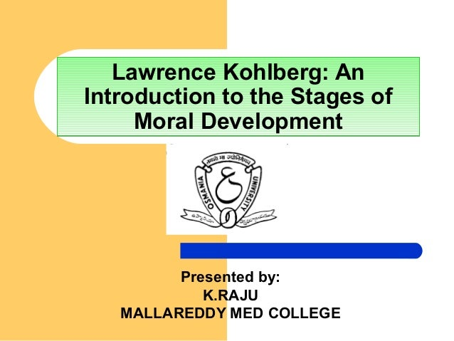 an introduction to the analysis of moral development Analysis of the stages in life span development essayswhen breaking down the life span into stages such as childhood, adulthood, and late adulthood the break down seeks to bring unity to the life of human being, and ultimately helps us to understand the development of a person.