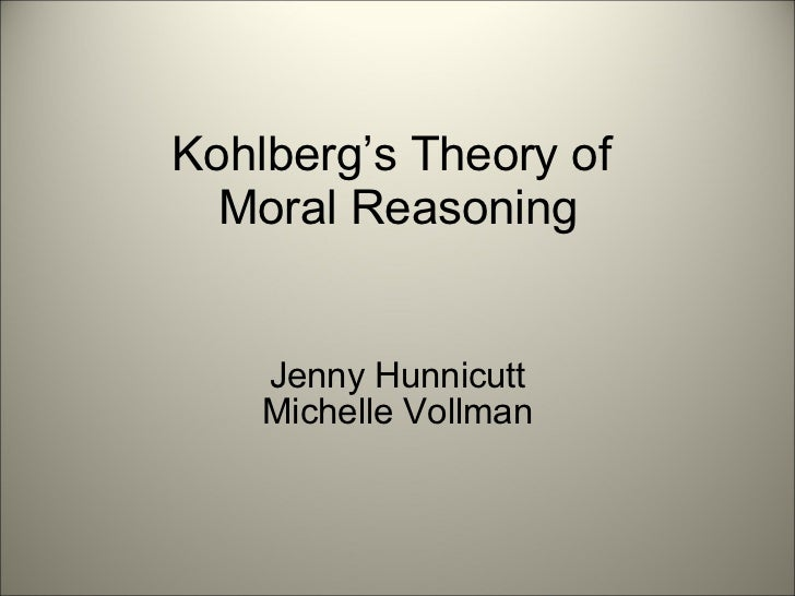 Kolhberg s moral development