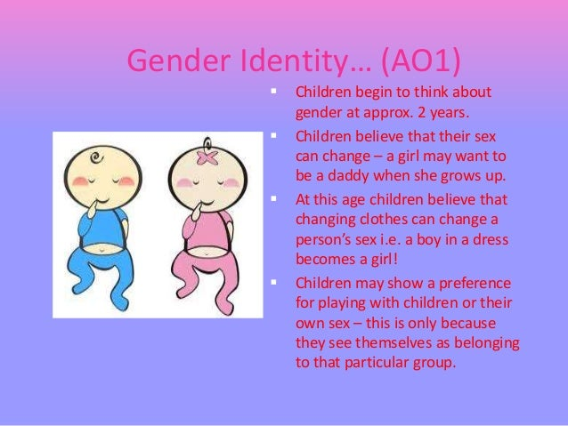 an analysis of the development of gender roles in children Without such efforts, we stymie young children's development, keeping them from   vivid samples that i could use to effectively recall experiences for analysis   the gender roles that children assume, as defined by our culture, affect their.