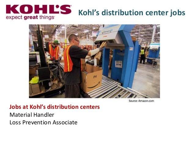 Kohls Distribution Job Tarifsmedias