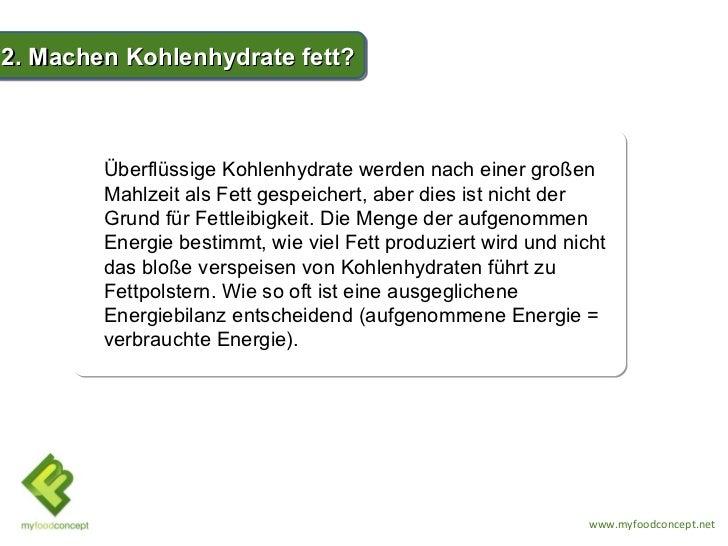 TOP 5 Wahrheiten über Kohlenhydrate Slide 3