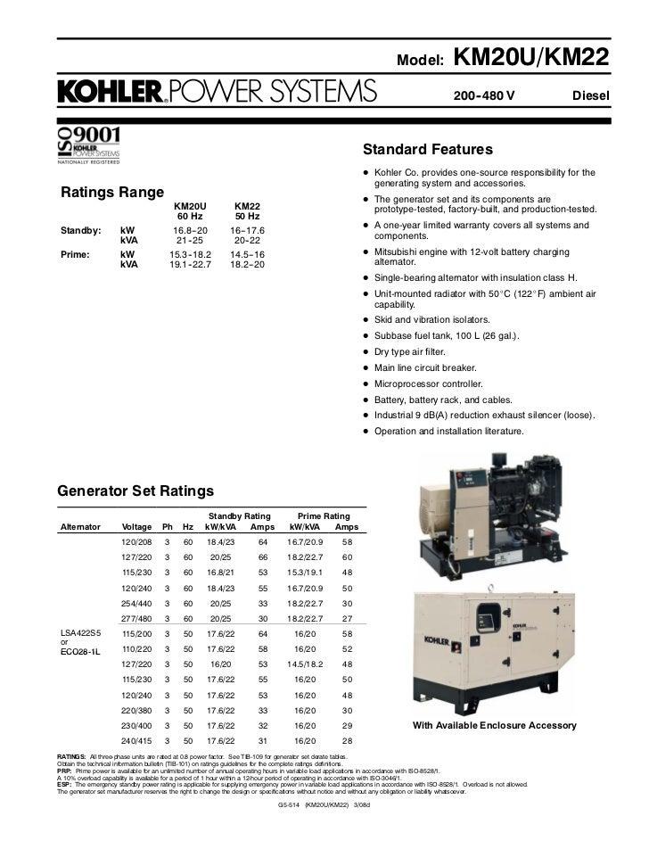 Model:               KM20U/KM22                                                                                           ...