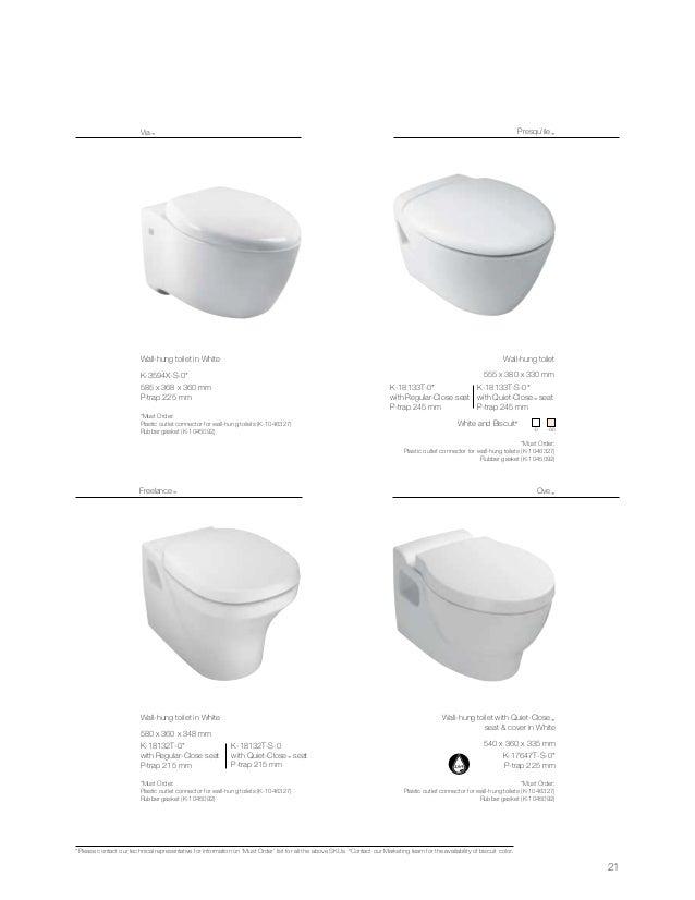 Kohler Wall Mounted Toilet Residential 10 21 Wallhung