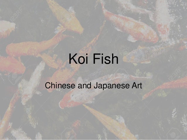 Koi fish in asian art for Koi japanese art