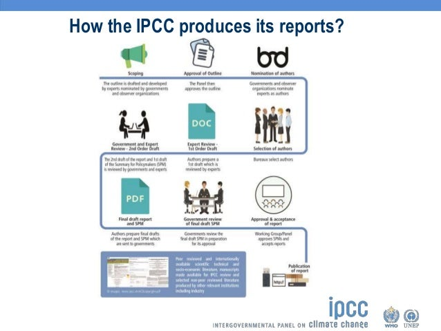the role of ipcc in climate It looks at how ipcc scientists review the role of media, reflects on how media  relate to decision-making structures and cultures, analyzes how key journalists.