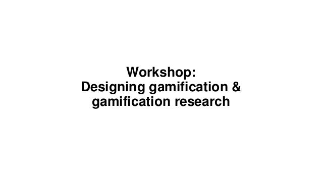 gamification of the workplace essay Gamification gamification signification has become an interactive way on bringing the world of gaming into the workplace  get your custom essay sample.