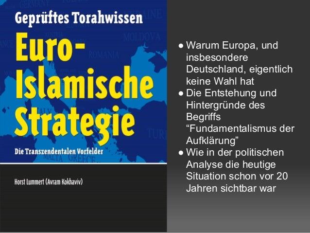 """● Warum Europa, und insbesondere Deutschland, eigentlich keine Wahl hat ● Die Entstehung und Hintergründe des Begriffs """"Fu..."""