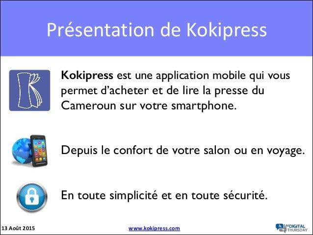 Koki press Slide 2