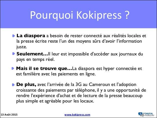 Koki press Slide 3