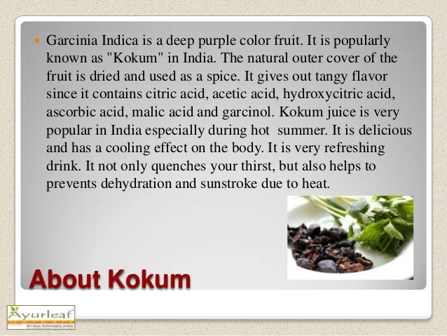 what is kokum fruit called in english