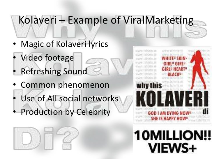 kolaveri di viral mktg Sxsw is one of the top communications trend events in the world if you are attending this year's sxsw-i, read our guidebook to learn all you need to know about the conference, prepared by our vet by mslgroup in types  instruction manuals, ebook, y experts.