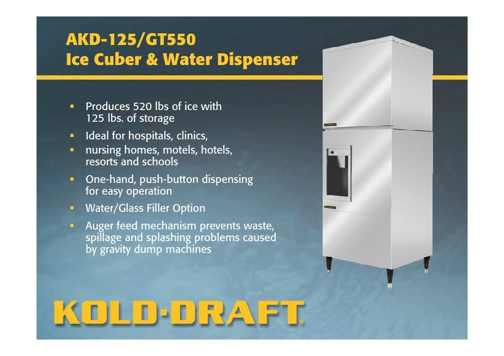 kold draft machine