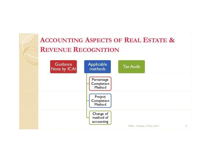 Bookkepping Andd Property Development : Kolkata taxation of real estate development dec