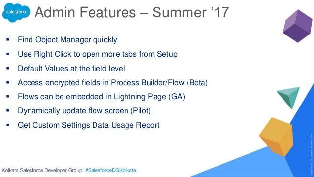 Kolkata Salesforce Developer Group Online - Summer '17