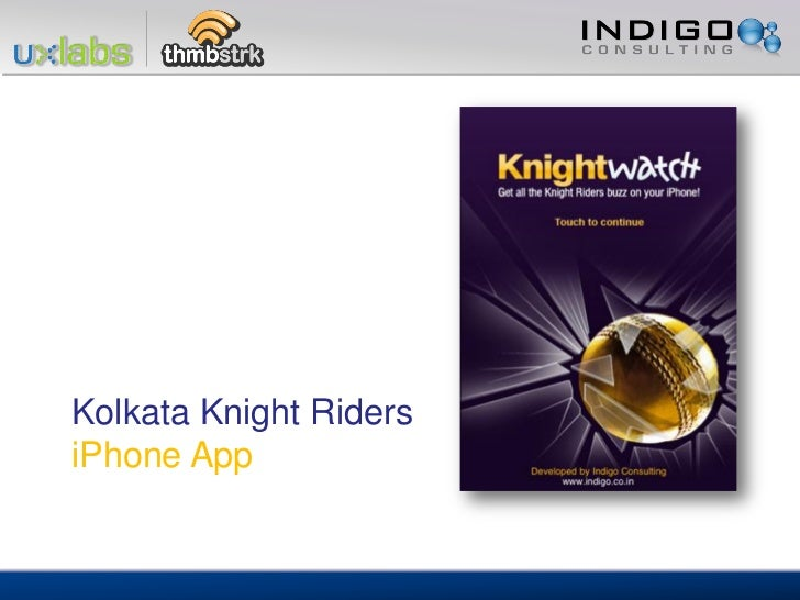 Kolkata Knight RidersiPhone App