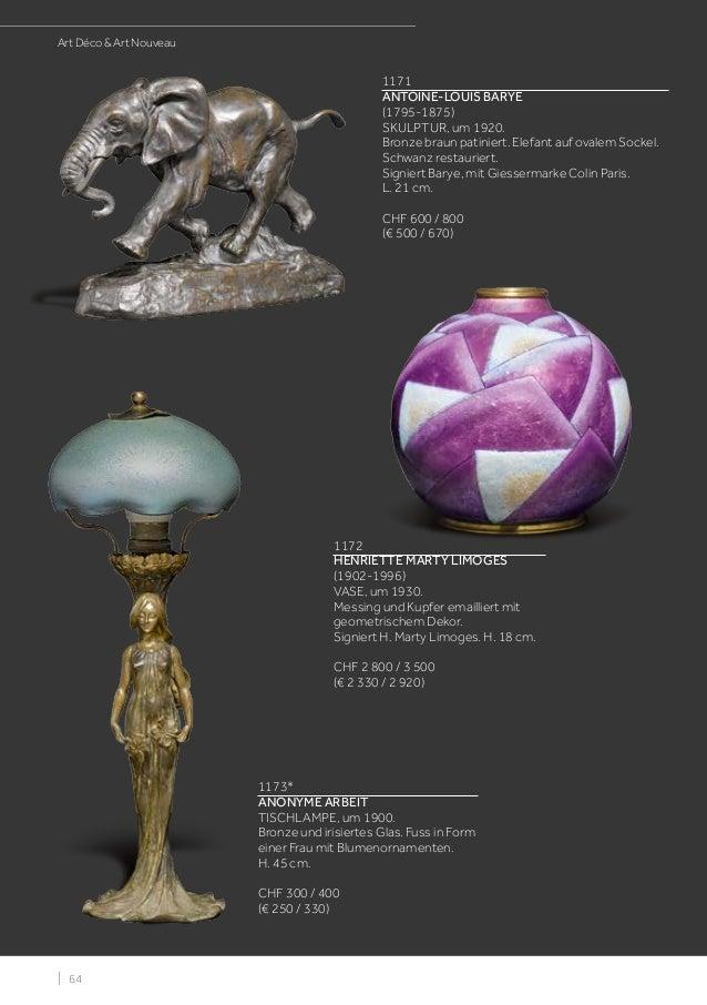 Koller ART DECO & ART NOUVEAU Auction