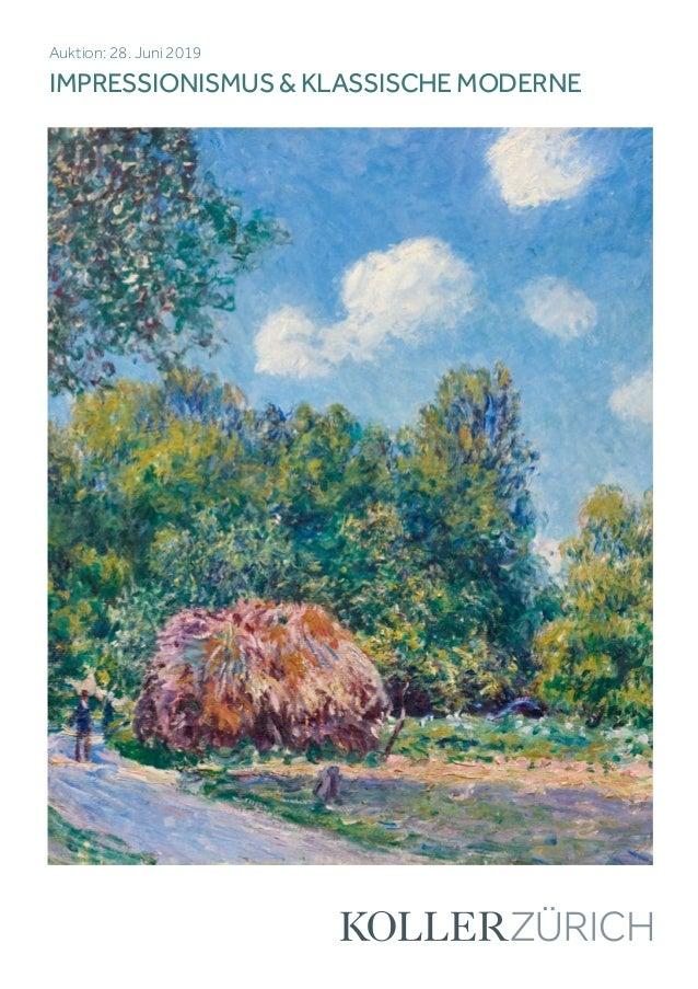 Koller impressionismus & klassische moderne
