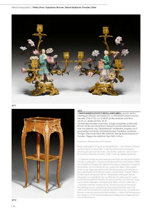 Koller mobel, pendulen, tapisserien, skulpturen und Part 1 of two cat…
