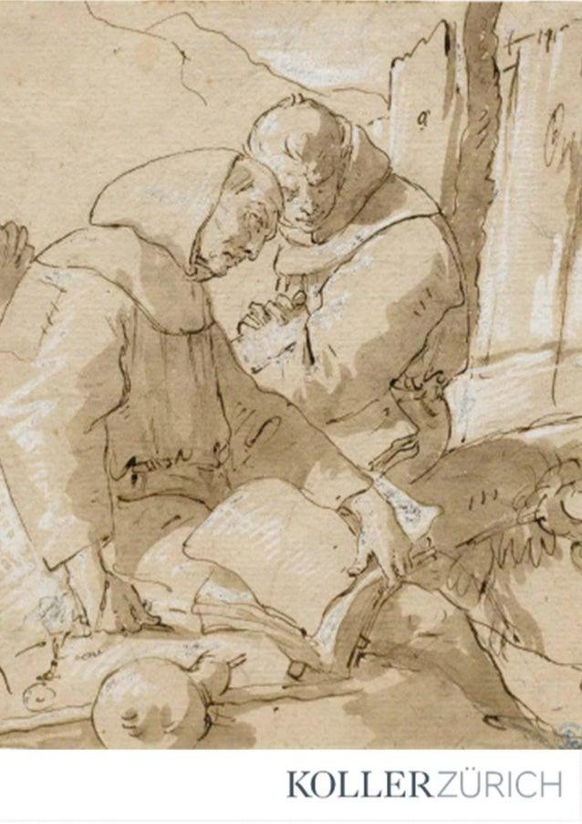 Zeichnungen des 15. - 20. Jahrhunderts Lot 3401 - 3505 Auktion: Dienstag, 22. März 2016, 11.00 Uhr Vorbesichtigung: 8. bis...