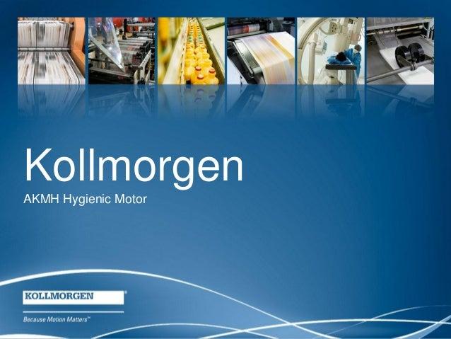 Kollmorgen AKMH Hygienic Motor  1