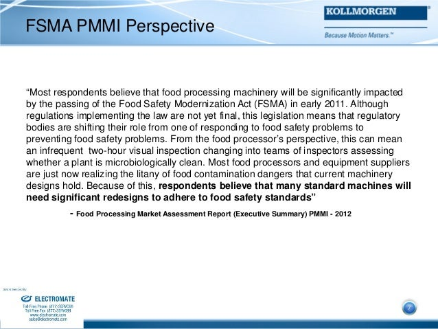 Kollmorgen automation and food safety webinar presentation