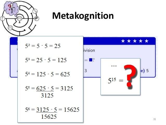 Metakognition 31