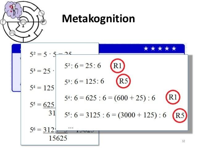 Metakognition 32