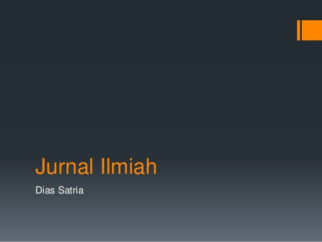 Jurnal Ilmiah Dias Satria