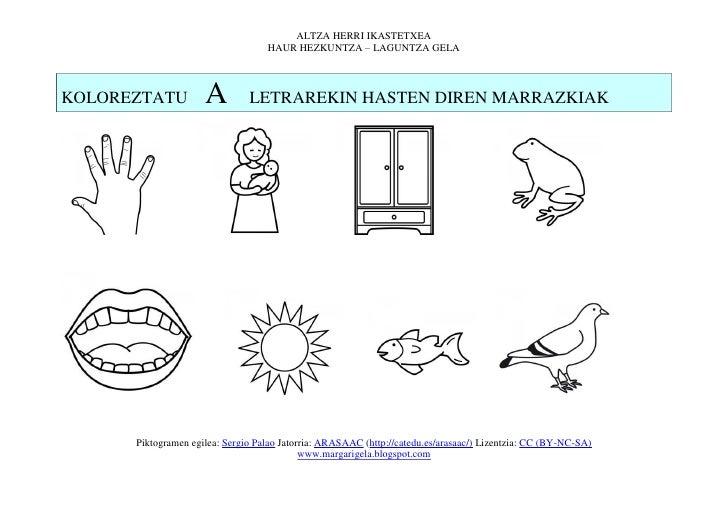 ALTZA HERRI IKASTETXEA                                   HAUR HEZKUNTZA – LAGUNTZA GELAKOLOREZTATU          A         LETR...
