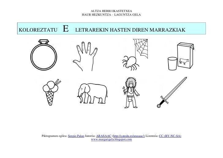 ALTZA HERRI IKASTETXEA                                   HAUR HEZKUNTZA – LAGUNTZA GELAKOLOREZTATU          E        LETRA...