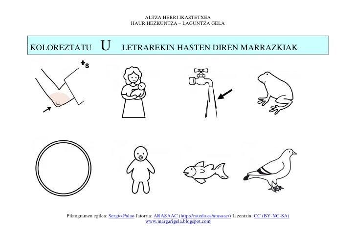 ALTZA HERRI IKASTETXEA                                   HAUR HEZKUNTZA – LAGUNTZA GELAKOLOREZTATU          U         LETR...